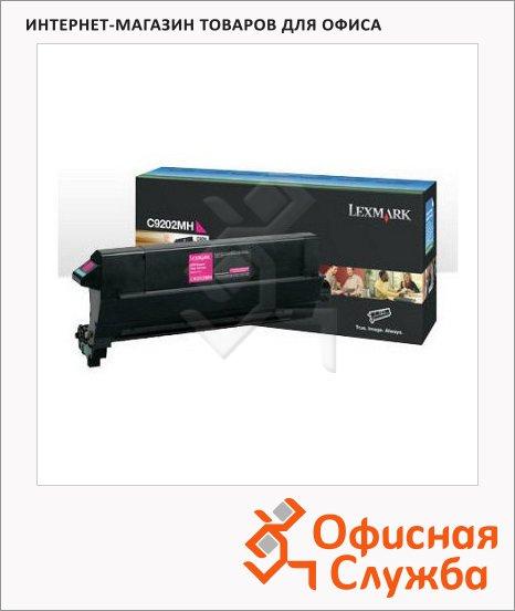 Тонер-картридж Lexmark C9202MH, пурпурный