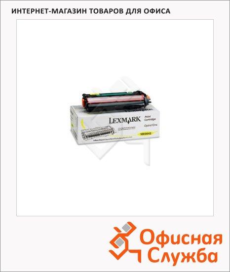 Тонер-картридж Lexmark LX10E0042, желтый