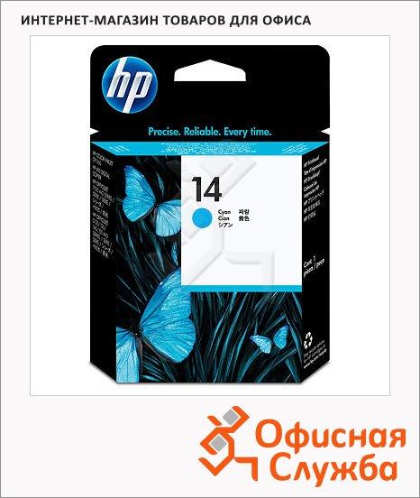 фото: Печатающая головка Hp 14 C4921AE голубая