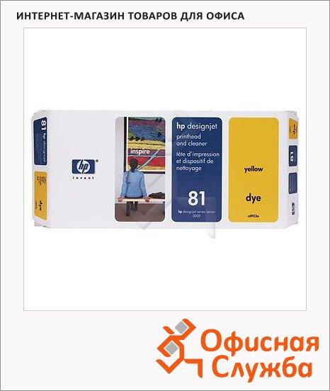фото: Печатающая головка Hp 81 C4953A желтая
