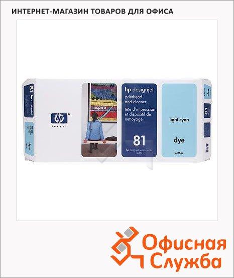 Печатающая головка Hp 81 C4954A, светло-голубая
