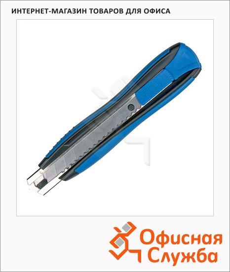 Нож канцелярский Maped Zenoa Sensitiv 18мм, серо-голубой, 086110