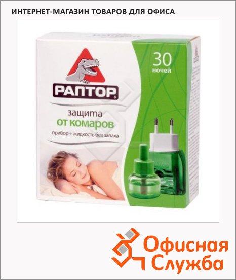 фото: Жидкость для защиты от комаров Раптор на 30 ночей без запаха