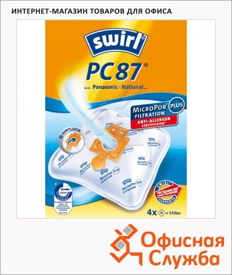 фото: Пылесборник для пылесосов Swirl PC 87 MicroPor 4 шт + воздушный фильтр