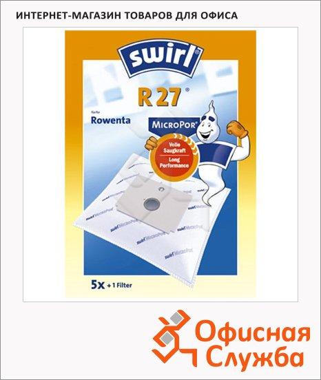 Пылесборник для пылесосов Swirl R 27 MicroPor 5 шт + воздушный фильтр