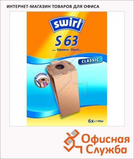 Пылесборник для пылесосов Swirl S 63 6 шт + воздушный фильтр