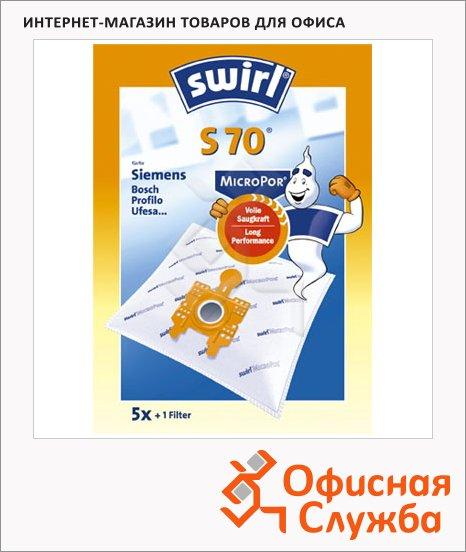 Пылесборник для пылесосов Swirl S 70 MicroPor 5 шт + воздушный фильтр