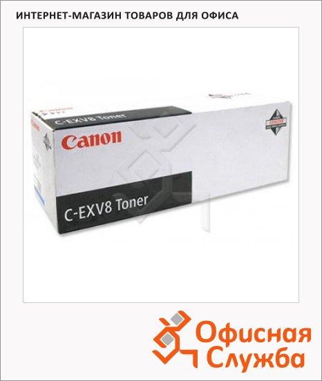 фото: Тонер-картридж Canon C-EXV8Y желтый, (7626A002)
