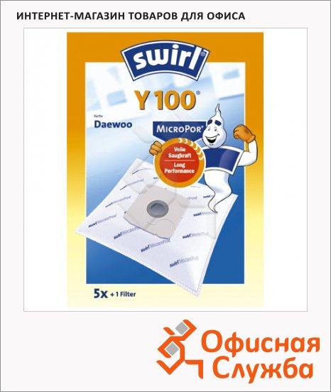 Пылесборник для пылесосов Swirl Y 100 MicroPor 6 шт + воздушный фильтр