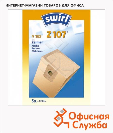 Пылесборник для пылесосов Swirl Z 107 5 шт + воздушный фильтр