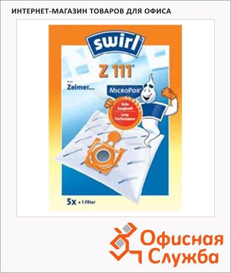 фото: Пылесборник для пылесосов Swirl Z 111 MicroPor 5 шт + воздушный фильтр