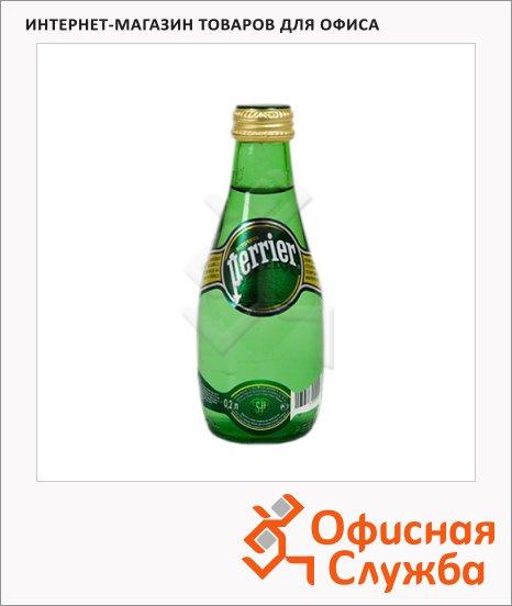 Вода минеральная Perrier газ 0.2л, стекло
