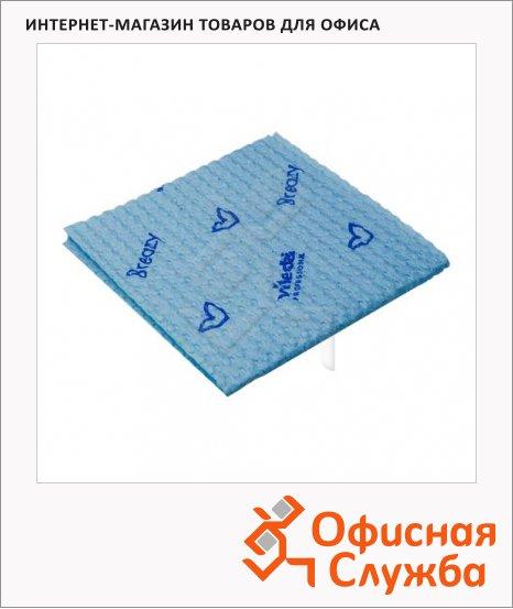 Салфетка хозяйственная Vileda Pro Бризи 35.5х35см, голубая, 120124
