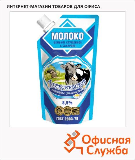 фото: Молоко сгущенное Алексеевское 8.5% 270г, мягкая упаковка