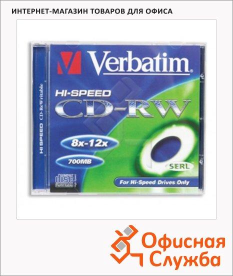 ���� CD-RW Verbatim DataLife+ 700Mb, 12�, 10��/��