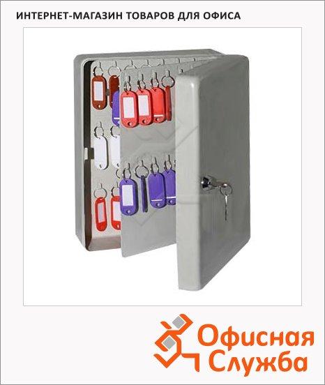 Шкафчик для ключей Shuh Ru KB-70 на 20 ключей, ключевой замок, 180х80х250мм