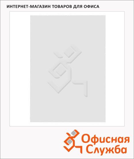 фото: Обложки для переплета пластиковые Gbc белые А4, 300 мкм, 100шт