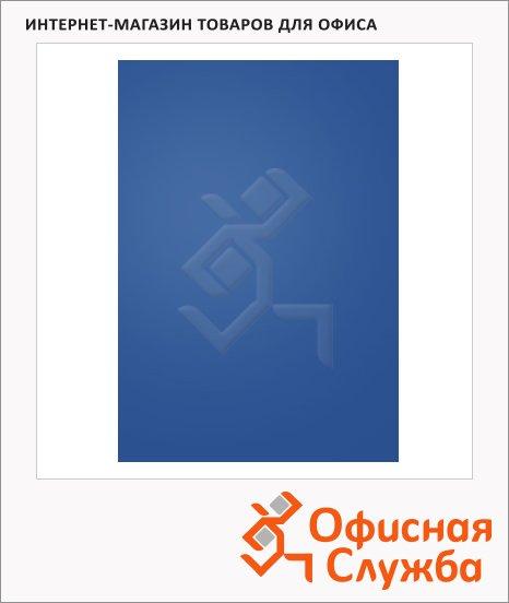 Обложки для переплета пластиковые Gbc синие, А4, 300 мкм, 100шт