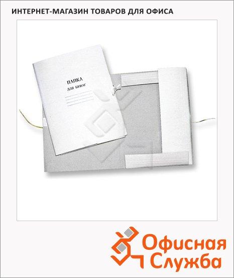 фото: Картонная папка на завязках до 200 листов 10 шт./уп