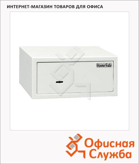 фото: Мебельный сейф HomeSafe-15 замок: ключевой 150х320х280мм, 5.5 кг, офисный