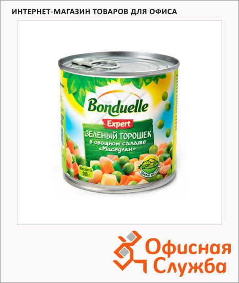 фото: Овощная смесь Bonduelle маседаун 400г