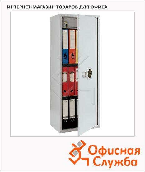 Шкаф металлический для документов Практик SL-125T EL бухгалтерский, 1252х460х340мм