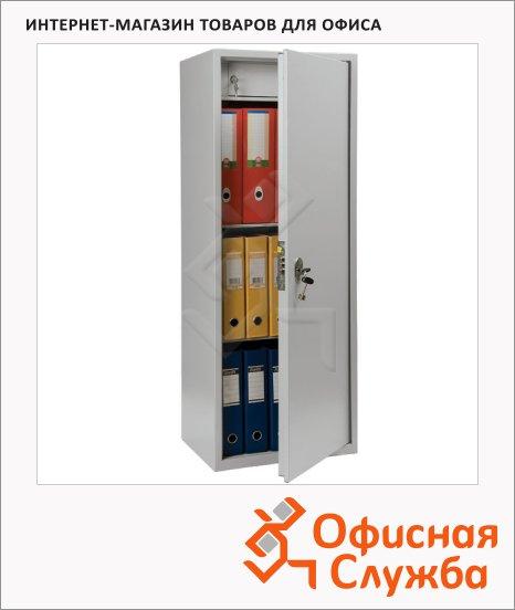 Шкаф металлический для документов Практик SL-125T бухгалтерский, 1252х460х340мм