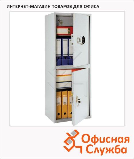 Шкаф металлический для документов Практик SL-125/2T EL бухгалтерский, 1252x460x340мм
