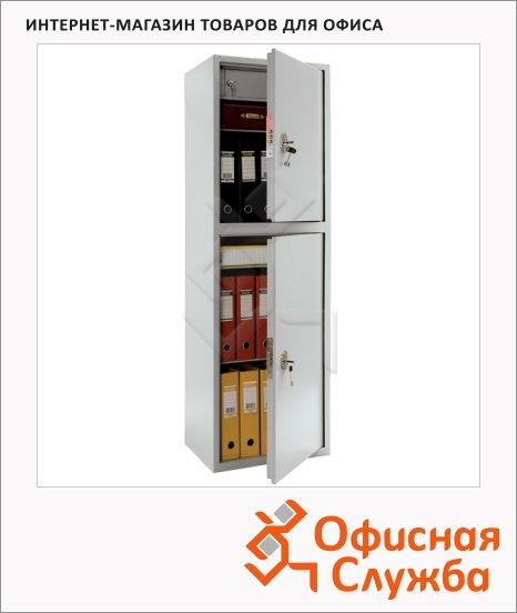 Шкаф металлический для документов Практик SL-150/2T бухгалтерский, 1490x460x340мм