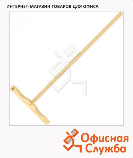 Швабра Экоколлекция универсальная деревянная, ручка 130см