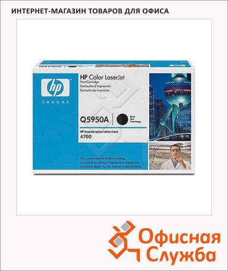 Тонер-картридж Hp Q5950A, черный
