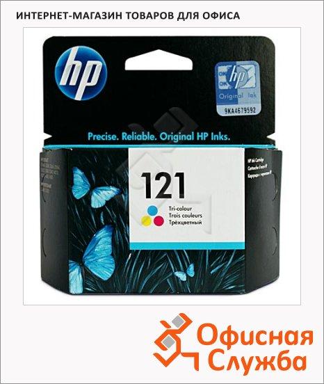 фото: Картридж струйный Hp 121 CC643HE 3 цвета