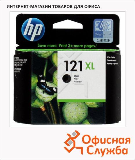 Картридж струйный Hp 121XL CC641HE, черный повышенной емкости