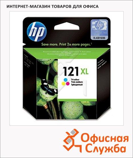 фото: Картридж струйный Hp 121XL CC644HE трехцветный повышенной емкости
