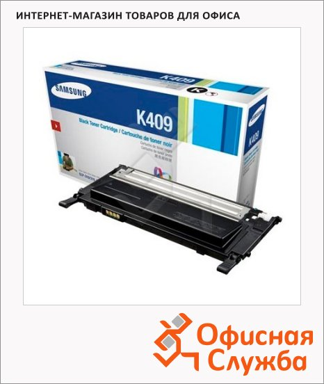 фото: Тонер-картридж Samsung CLT-K409S черный
