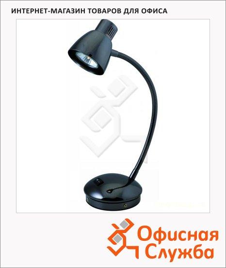 Светильник настольный Globo 24712 GU10 черный, на подставке, галогеновый