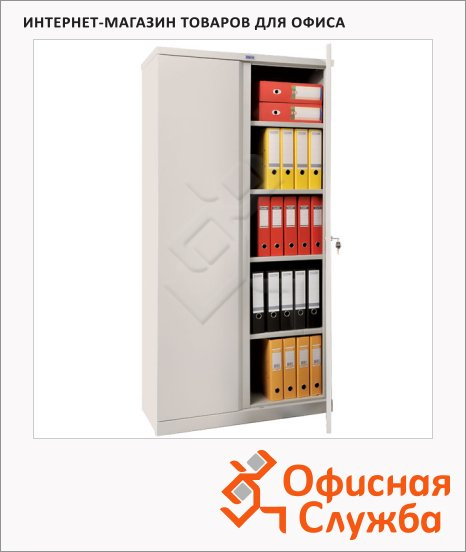 Шкаф металлический для документов Практик M-18 1830x915x370мм