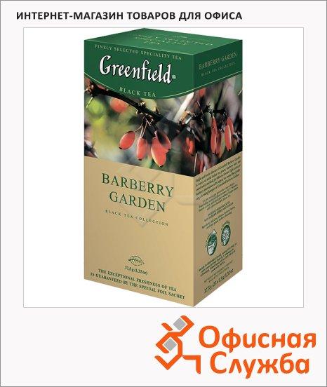 Чай Greenfield Burberry Garden (Барберри Гарден), черный, 25 пакетиков