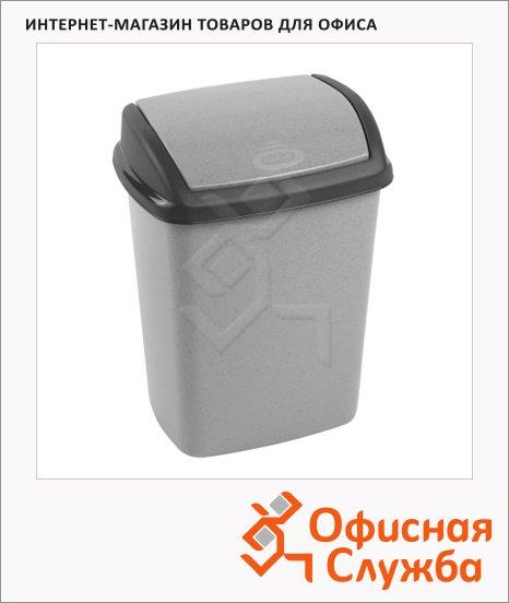 фото: Контейнер для мусора Dominik 10л серый, 175920