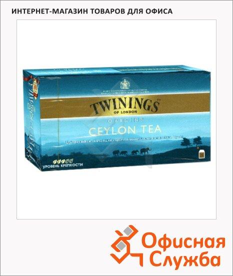 фото: Чай Twinings Ceylon черный, 25 пакетиков