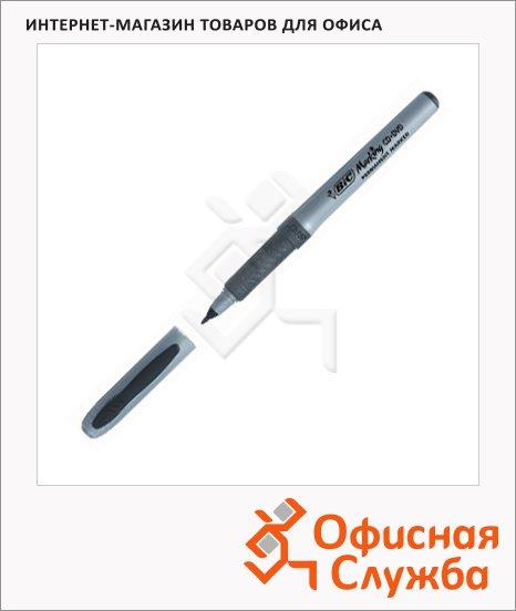 Маркер для CD перманентный Bic черный, 0.7мм, круглый наконечник, с резиновым грипом