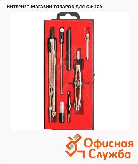 Готовальня Глобус 7 предметов, пластиковый футляр, НЧ-7-70-60