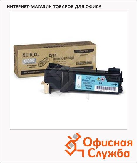 Тонер-картридж Xerox 106R01335, голубой