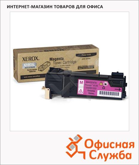фото: Тонер-картридж Xerox 106R01336 пурпурный
