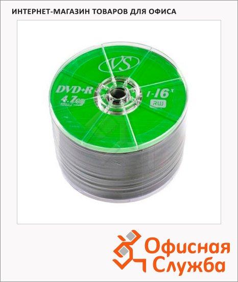 Диск DVD+R Vs 4.7Gb, 16x, Bulk, 50шт/уп