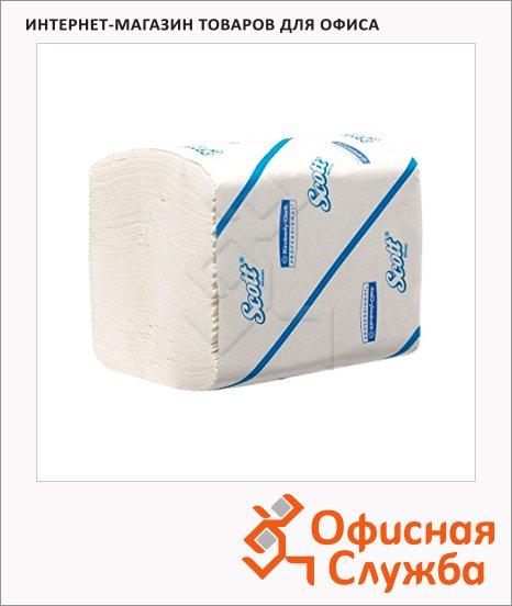 фото: Туалетная бумага листовая Kimberly-Clark Scott 8508 250 листов, 2 слоя, белая