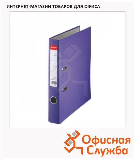 Папка-регистратор А4 Esselte Economy фиолетовая, 50 мм, 81174