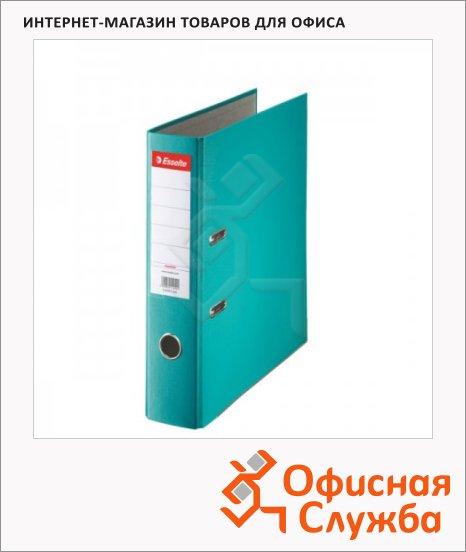 Папка-регистратор А4 Esselte Economy бирюзовая, 75 мм, 11282