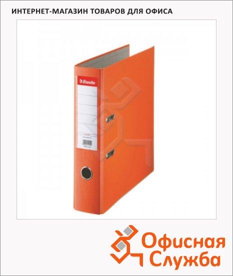 фото: Папка-регистратор А4 Esselte Economy оранжевая 75 мм, 11234