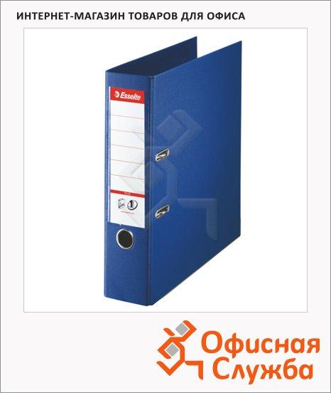 Папка-регистратор А4+ Esselte Plus синяя, 80 мм, 81185